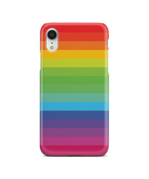 Rainbow Lines for Beautiful iPhone XR Case Cover