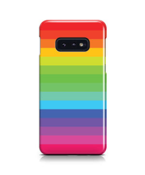 Rainbow Lines for Beautiful Samsung Galaxy S10e Case