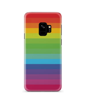 Rainbow Lines for Beautiful Samsung Galaxy S9 Case