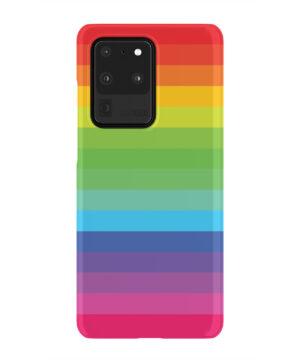 Rainbow Lines for Cute Samsung Galaxy S20 Ultra Case