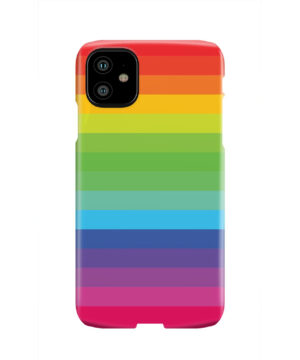 Rainbow Lines for Nice iPhone 11 Case Cover