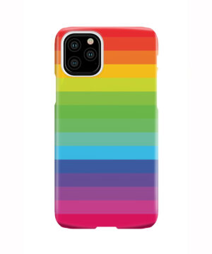 Rainbow Lines for Nice iPhone 11 Pro Case Cover