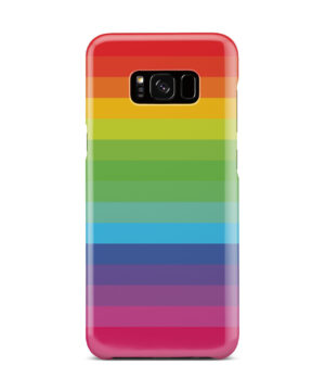 Rainbow Lines for Stylish Samsung Galaxy S8 Plus Case Cover