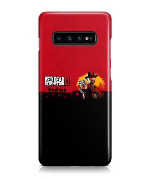 Red Dead Redemption for Simple Samsung Galaxy S10 Case