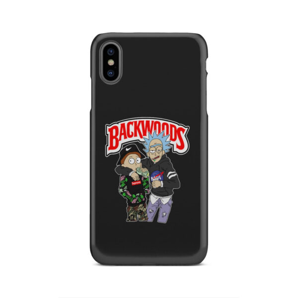 Rick and Morty Backwoods for Best iPhone XS Max Case
