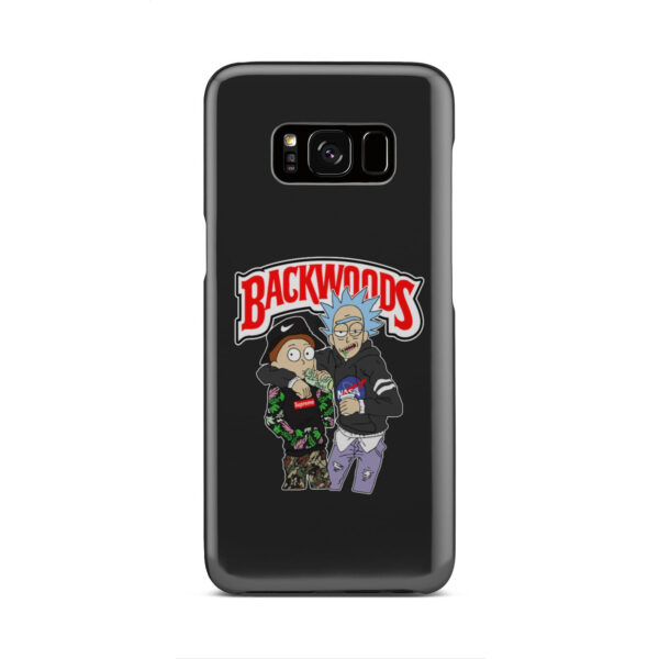 Rick and Morty Backwoods for Best Samsung Galaxy S8 Case Cover