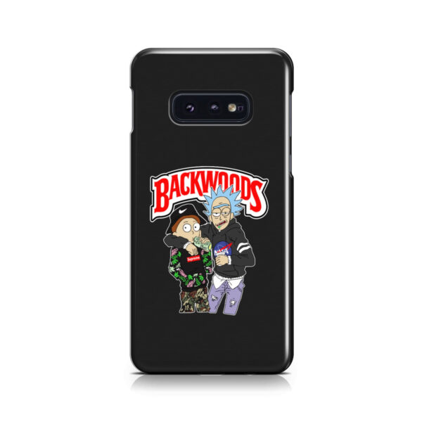 Rick and Morty Backwoods for Customized Samsung Galaxy S10e Case