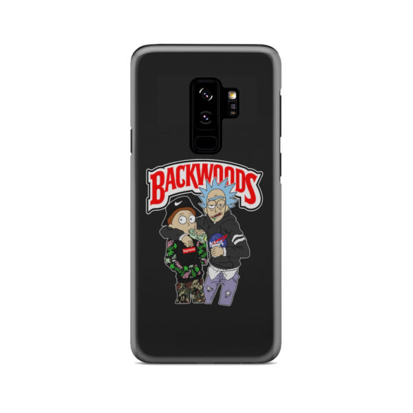 Rick and Morty Backwoods for Customized Samsung Galaxy S9 Plus Case Cover