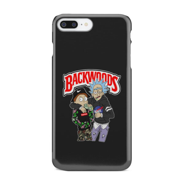 Rick and Morty Backwoods for Cute iPhone 8 Plus Case