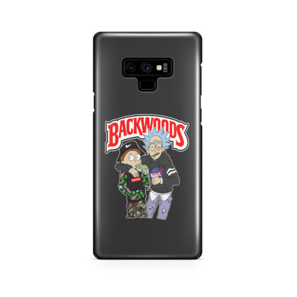 Rick and Morty Backwoods for Cute Samsung Galaxy Note 9 Case