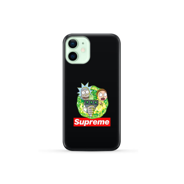 Rick and Morty Supreme for Customized iPhone 12 Mini Case Cover