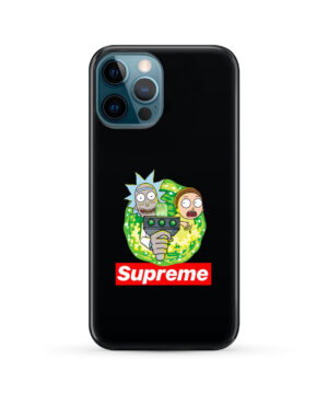 Rick and Morty Supreme for Cute iPhone 12 Pro Max Case Cover