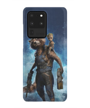 Rocket Racoon and Groot for Cool Samsung Galaxy S20 Ultra Case
