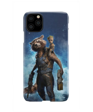Rocket Racoon and Groot for Custom iPhone 11 Pro Max Case
