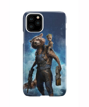 Rocket Racoon and Groot for Newest iPhone 11 Pro Case Cover