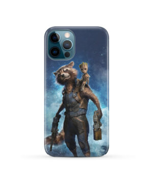 Rocket Racoon and Groot for Nice iPhone 12 Pro Case Cover