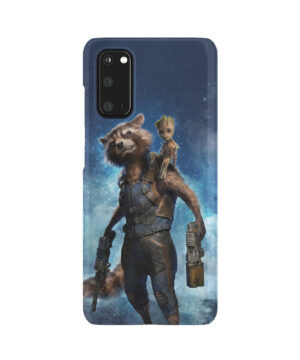 Rocket Racoon and Groot for Simple Samsung Galaxy S20 Case Cover