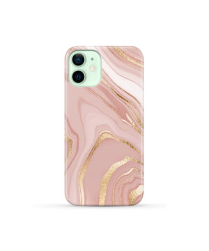 Rose Gold Marble for Amazing iPhone 12 Mini Case