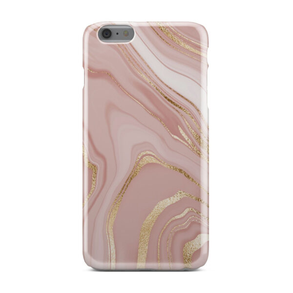 Rose Gold Marble for Beautiful iPhone 6 Plus Case