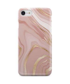 Rose Gold Marble for Beautiful iPhone 8 Case Cover