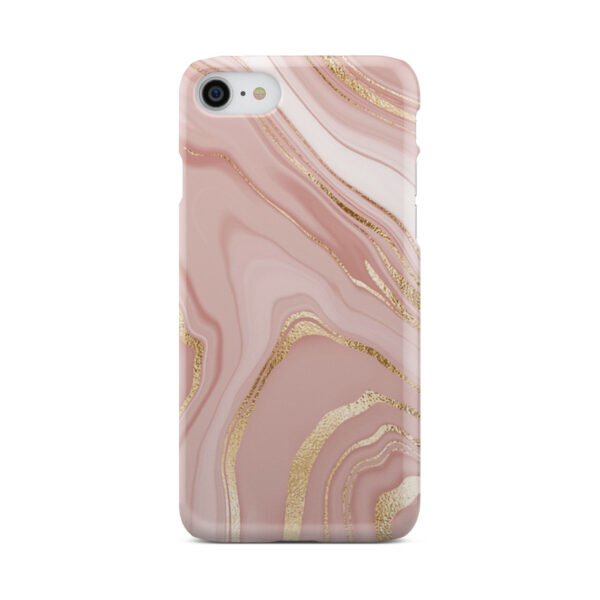 Rose Gold Marble for Cool iPhone 7 Case