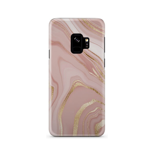 Rose Gold Marble for Customized Samsung Galaxy S9 Case Cover