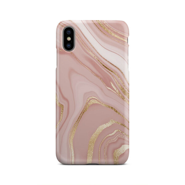 Rose Gold Marble for Cute iPhone XS Max Case Cover