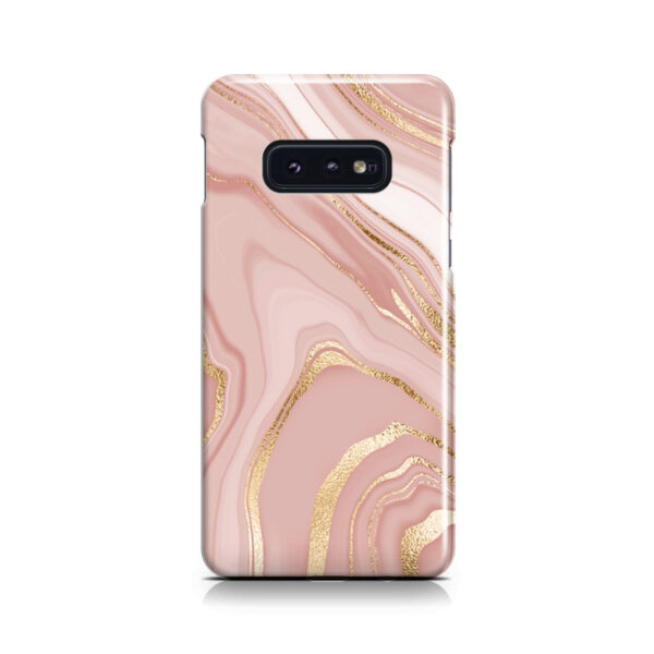 Rose Gold Marble for Cute Samsung Galaxy S10e Case Cover
