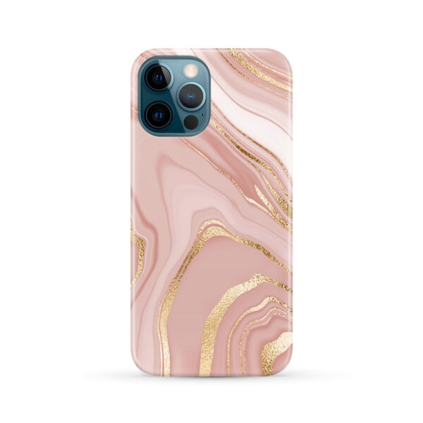 Rose Gold Marble for Newest iPhone 12 Pro Max Case Cover