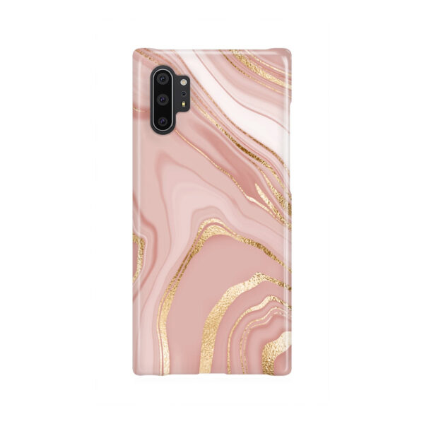 Rose Gold Marble for Newest Samsung Galaxy Note 10 Plus Case Cover