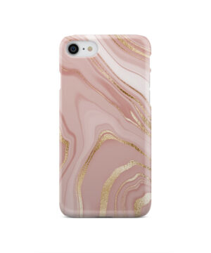 Rose Gold Marble for Simple iPhone SE 2020 Case