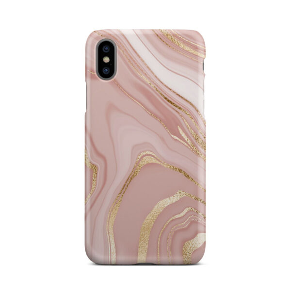 Rose Gold Marble for Simple iPhone X / XS Case Cover