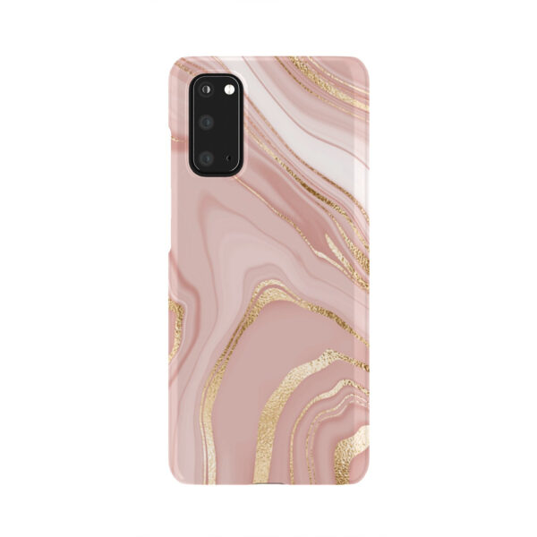 Rose Gold Marble for Simple Samsung Galaxy S20 Case