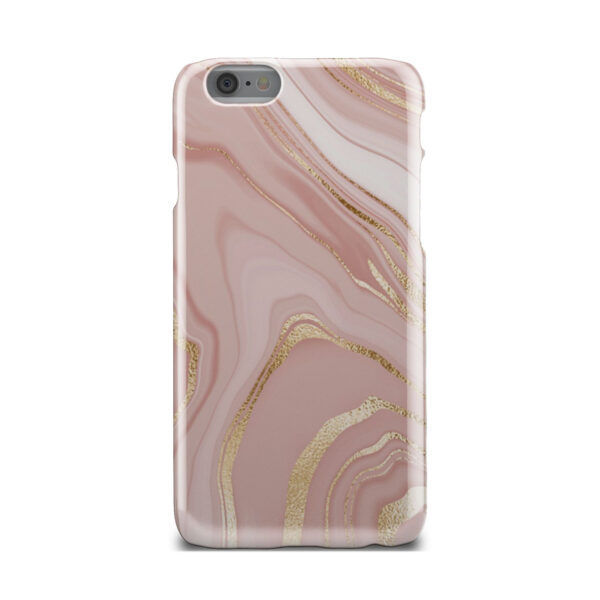 Rose Gold Marble for Stylish iPhone 6 Case Cover