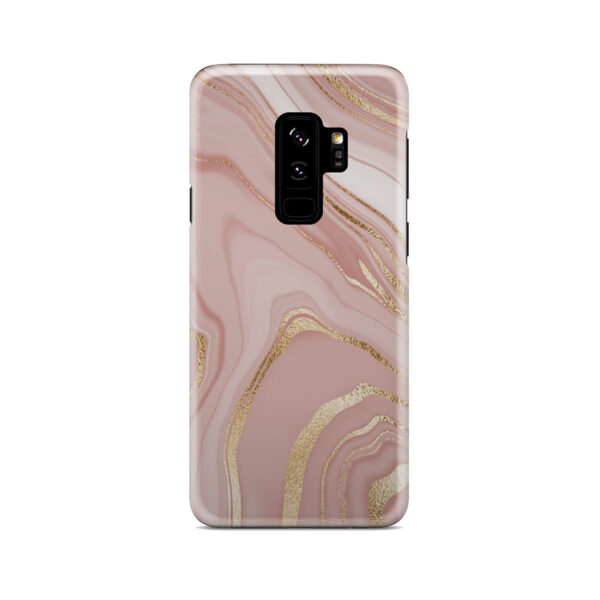 Rose Gold Marble for Stylish Samsung Galaxy S9 Plus Case