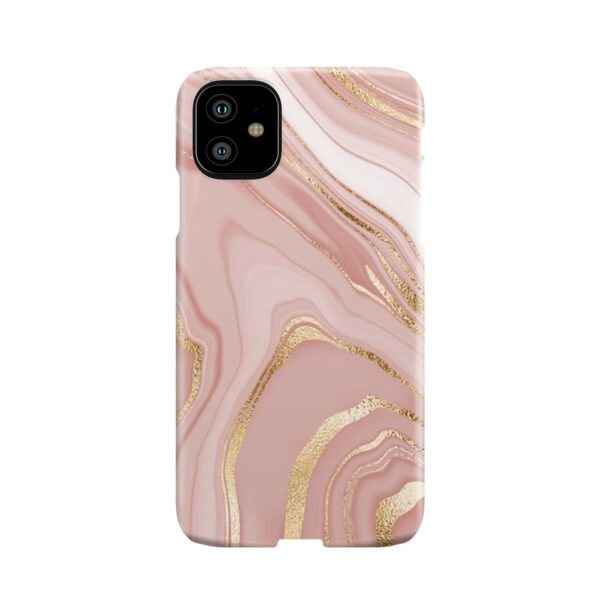 Rose Gold Marble for Unique iPhone 11 Case Cover