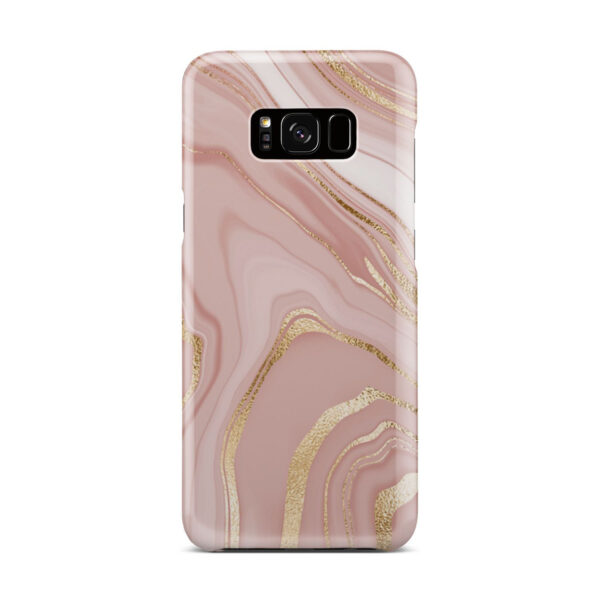 Rose Gold Marble for Unique Samsung Galaxy S8 Plus Case