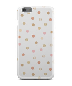 Rose Gold Polka Dots for Amazing iPhone 6 Plus Case