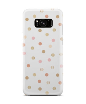 Rose Gold Polka Dots for Best Samsung Galaxy S8 Plus Case Cover