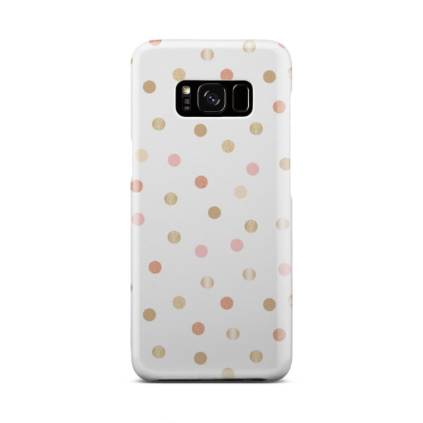 Rose Gold Polka Dots for Simple Samsung Galaxy S8 Case Cover