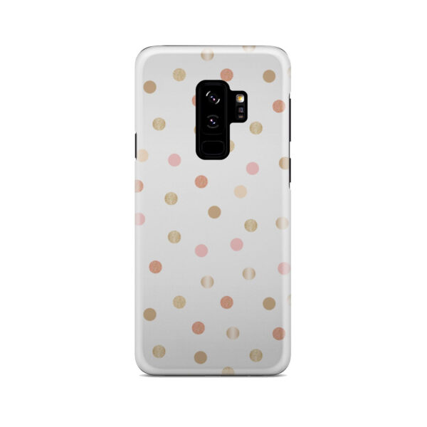 Rose Gold Polka Dots for Simple Samsung Galaxy S9 Plus Case