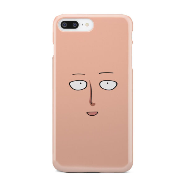 Saitama One Punch Man Face for Amazing iPhone 8 Plus Case Cover