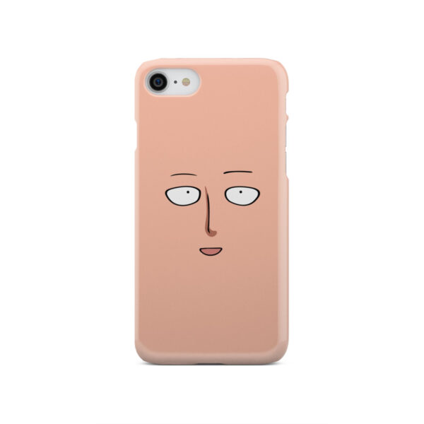 Saitama One Punch Man Face for Amazing iPhone SE 2020 Case