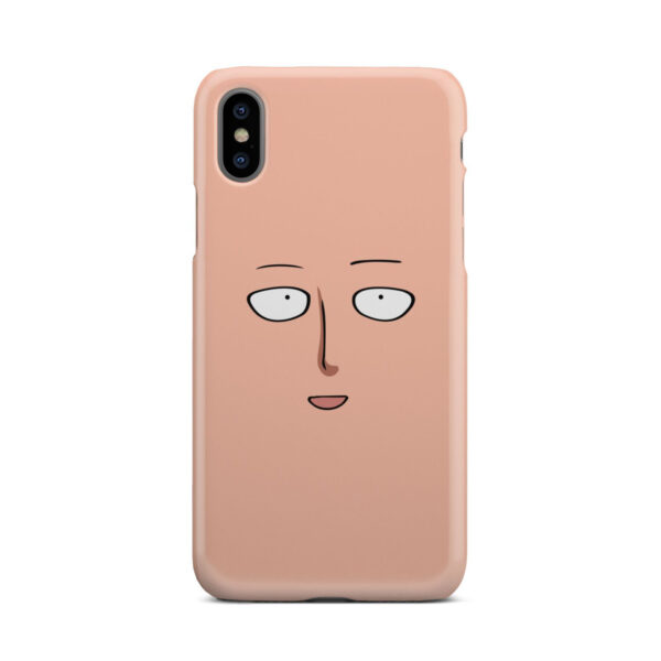 Saitama One Punch Man Face for Nice iPhone X / XS Case Cover
