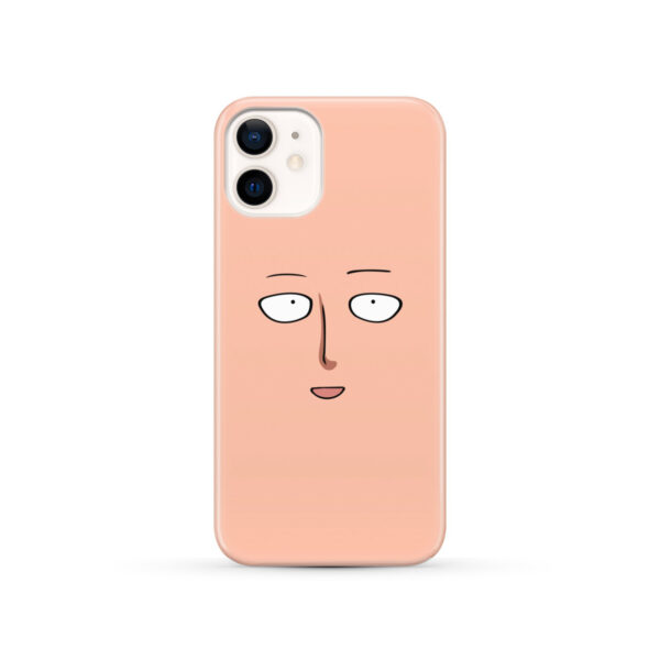 Saitama One Punch Man Face for Stylish iPhone 12 Case Cover