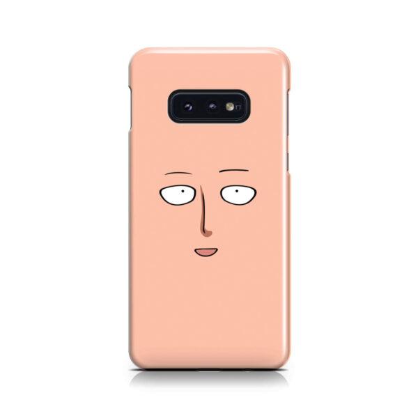 Saitama One Punch Man Face for Unique Samsung Galaxy S10e Case Cover