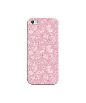 Sakura Watercolour Flower for Customized iPhone 5 Case Cover