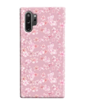 Sakura Watercolour Flower for Customized Samsung Galaxy Note 10 Plus Case