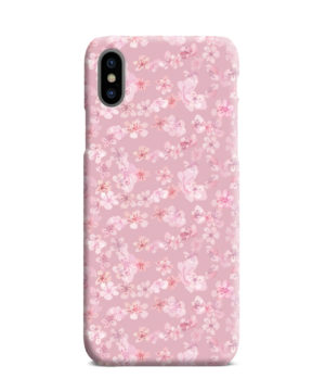Sakura Watercolour Flower for Newest iPhone XS Max Case