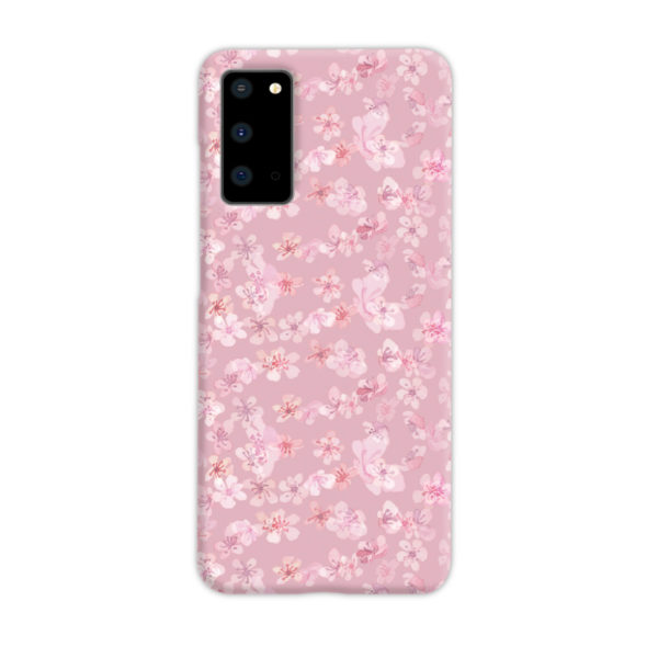 Sakura Watercolour Flower for Nice Samsung Galaxy S20 Case